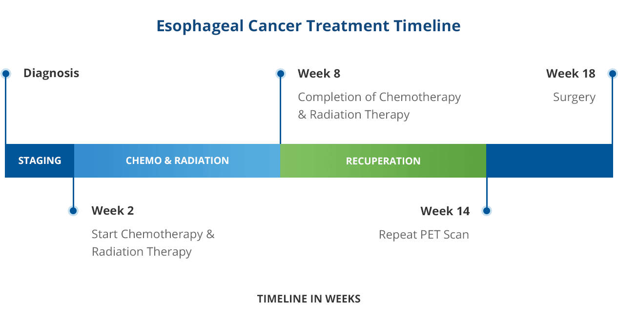 Esophageal Cancer Treatment Timeline Tampa, FL
