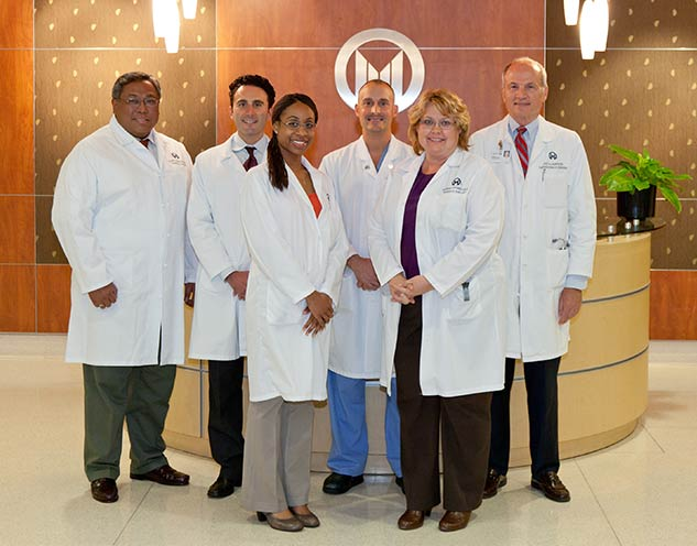 Moffitt Thoracic Surgery Team